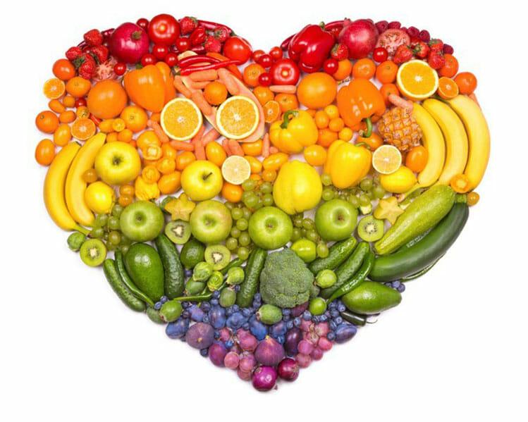 hjärta av frukt