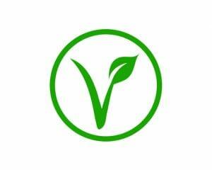 vegan och vegetarian symbol